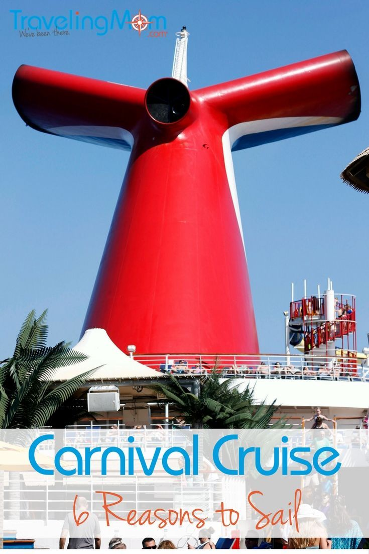 Have you ever taken a Carnival cruise vacation? We've got 6 great reasons to try Carnival Cruise Lines for your next family adventure.