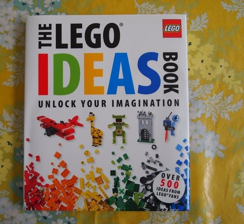 Lego Ideas Book (Let kids create without following the directions for the themed Legos out there!)