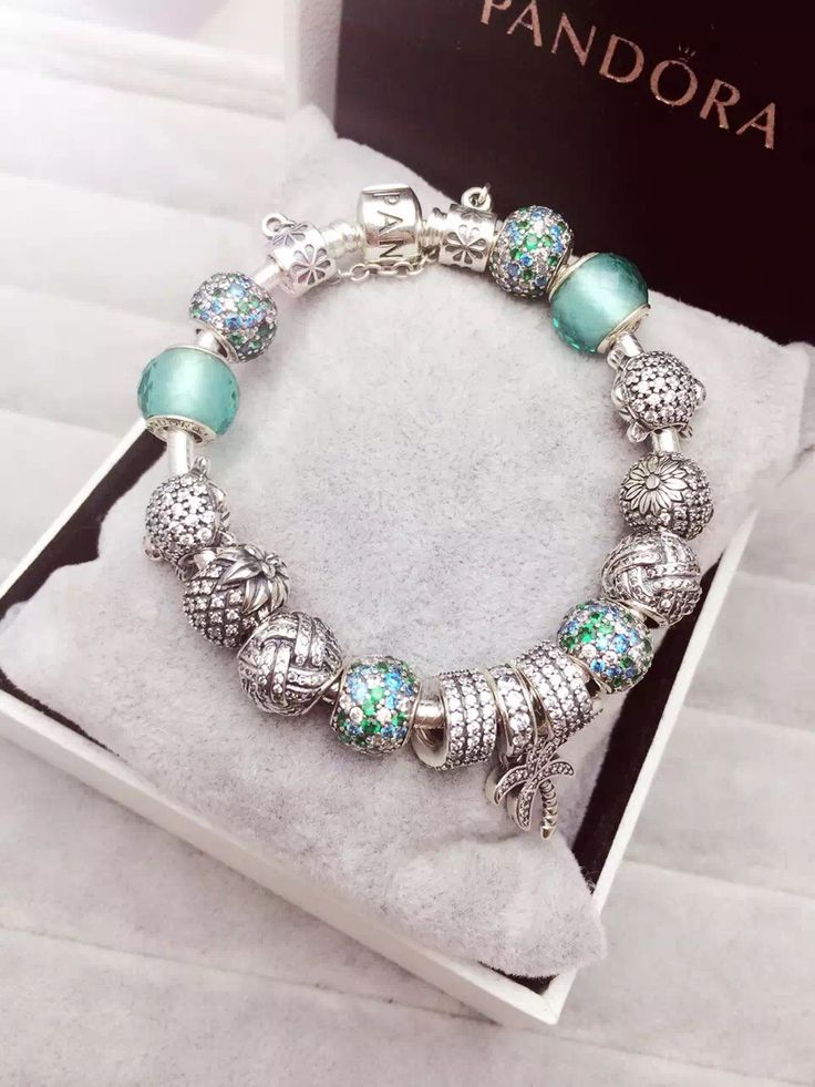 379 pandora charm bracelet green hot sale - Pandora Bracelet Design Ideas
