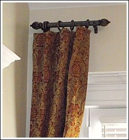 short curtain rods 17 best ideas about curtain rods on 12482