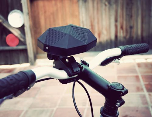 Bluetooth, wireless 'boombox' for your cruiser... The Turtle Shell by Outdoor Technology