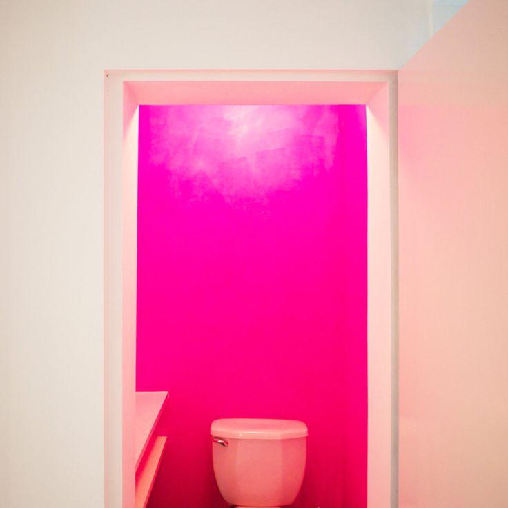 25+ melhores ideias sobre Banheiros Rosa Choque no  ~ Quarto Rosa Choque