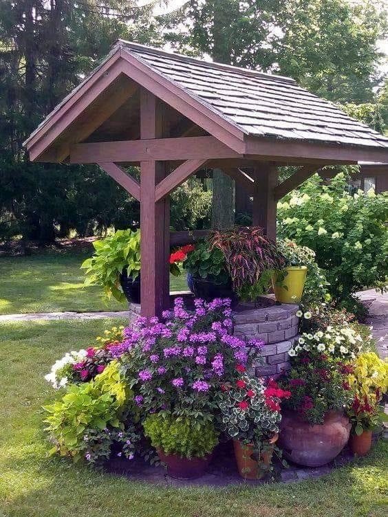 картинки видео фото как красиво украсить колодец августе шершни выиграли