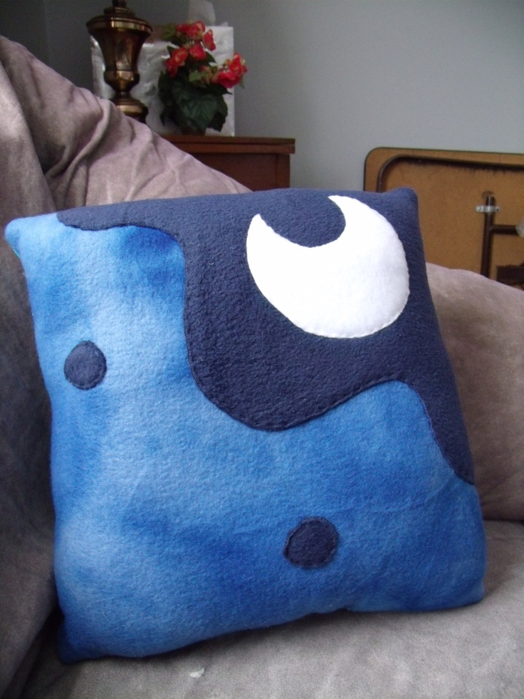 MLP Princess Luna Pillow Large by CynicalSniper on Etsy, $21.13