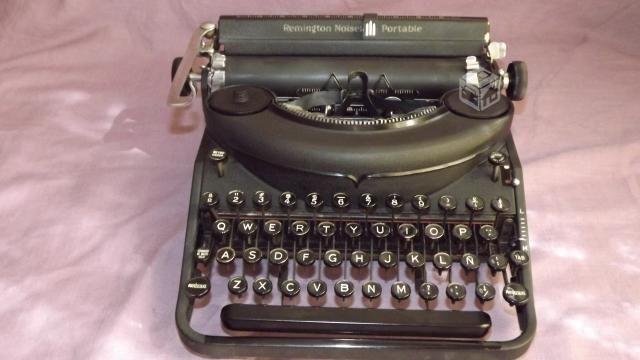 Maquina Remington Noiseless Portable años 30