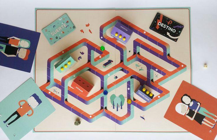 Diseño de juego de mesa/ Board game designMedios expresivos 1, cátedra Groisman.Carrera de Diseño gráfico, FADU, UBA.Octubre 2016