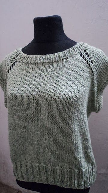 Lace, crochet and more!: Remera básica sin costuras: TUTORIAL