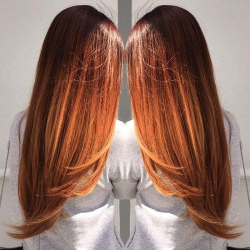 40 fresh trendy ideas for copper hair color in 2019 hair. Black Bedroom Furniture Sets. Home Design Ideas