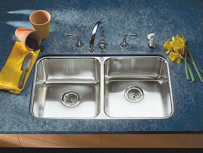 19 best Kohler images on Pinterest   Kitchen sinks, Double bowl ...
