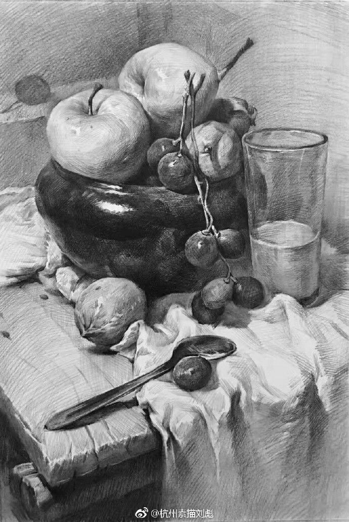 Картинки натюрморты карандаш фото