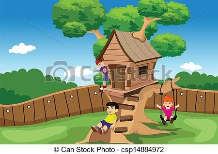 Kids Tree House Drawing beautiful kids tree house drawing of a treehouse coloring page e