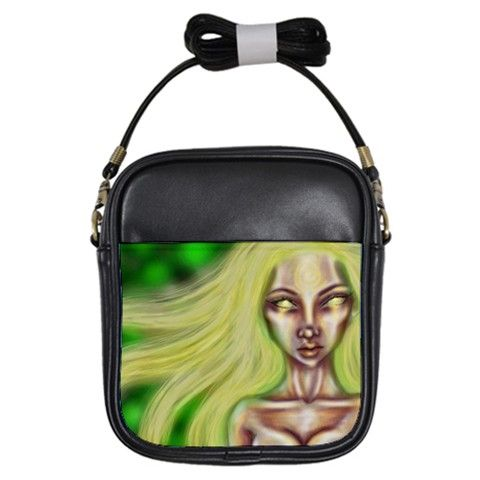 """Searching Through the Lights"" Girls Sling Bag via ArtsNow.com"