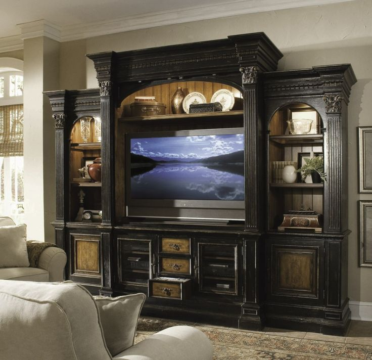 Furniture Living Room Storage Furniture And Tv Cabinet From Hooker Furniture  Entertainment Center Applying The Beautiful