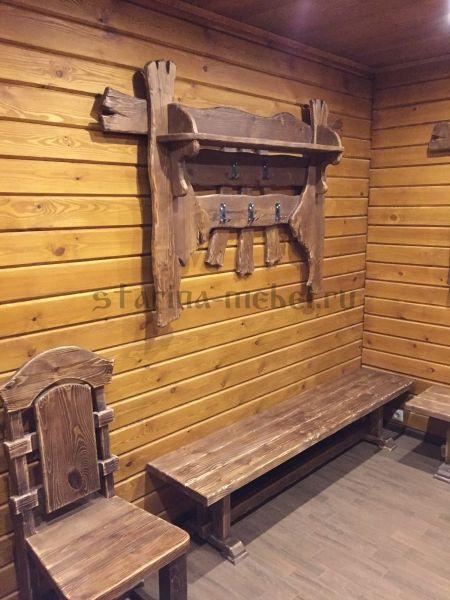 Мебель для бани под старину на заказ