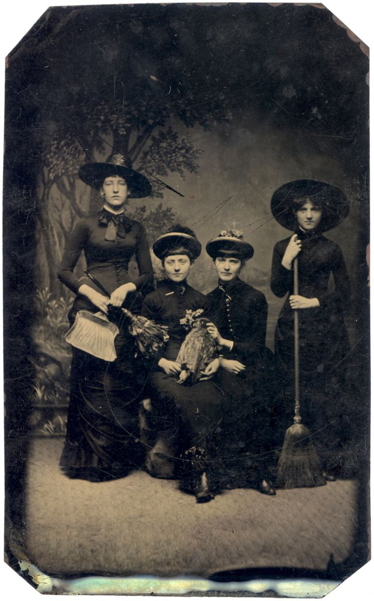 Witches- c.1875