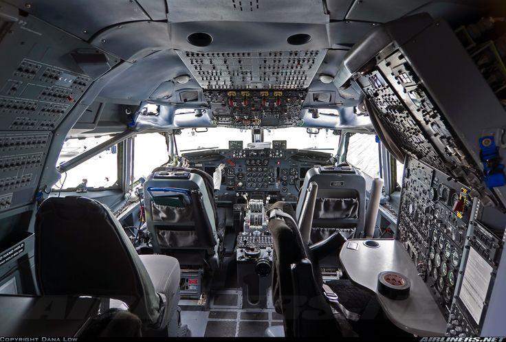 Sentry AEW1 flight deck
