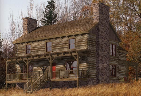 1000 ideas about stone house plans on pinterest stone for Log and stone home plans