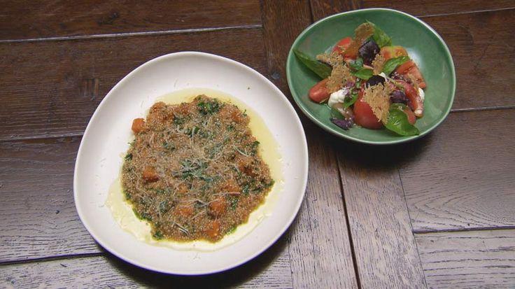 Masterchef Quinoa Risotto and Tomato Salad