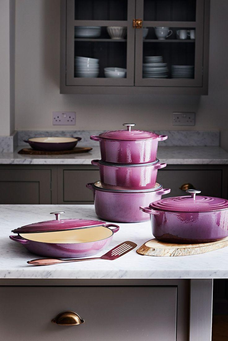Purple Le Cruset