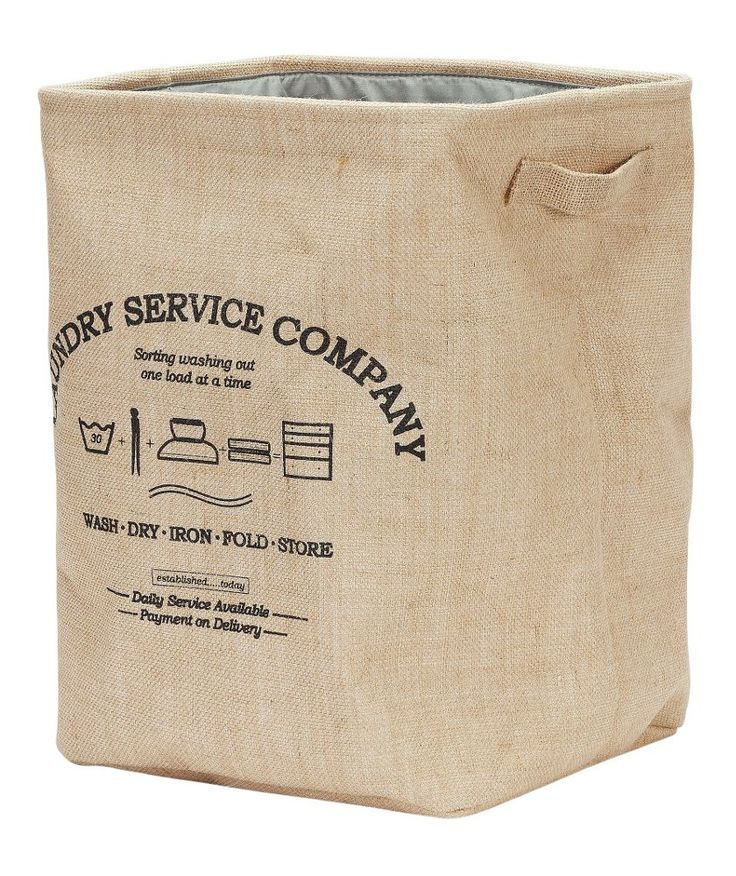 Buy Collection Vintage Jute Laundry Bin - Brown at Argos.co.uk - Your Online Shop for Linen baskets and laundry bins, Linen baskets and laundry bins.