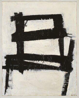 Franz Kline -The Chair (1950)