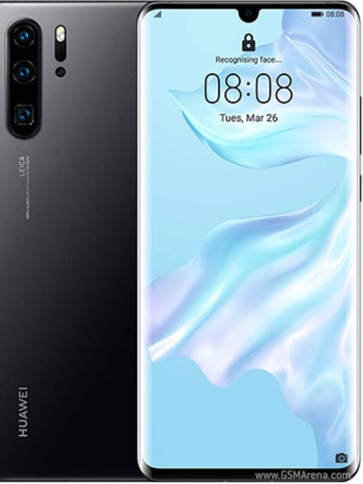 The Huawei Mate 20 Pro Features An Aluminum Frame With A Glass