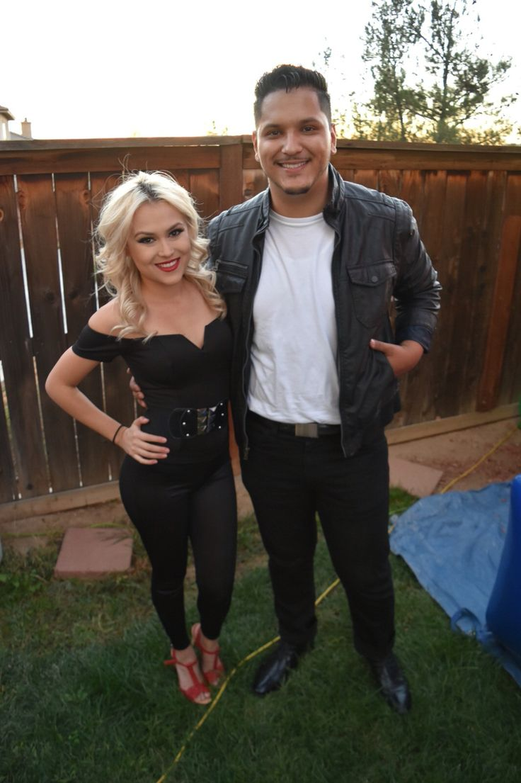 Grease costume sandy and Danny diy