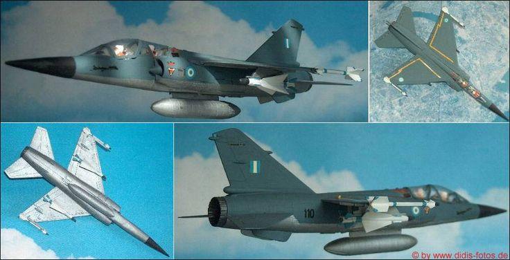 """Greece: Dassault """"Mirage"""" F-1B (Heller 258) 1:72"""