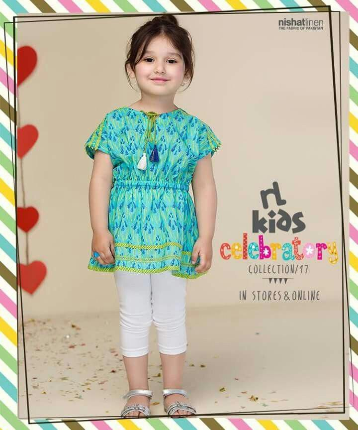0f553df3e738 Nishat linen kids Pakistan #KidsClothesSubscription | munti in 2019 | Baby  dress design, Kids outfits, Kids frocks