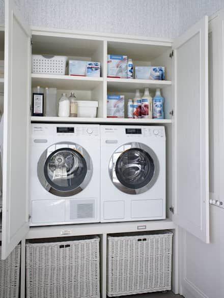 M s de 25 ideas incre bles sobre lavadora y secadora en pinterest organizaci n de la despensa - Rack lavadora secadora ...