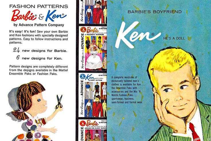 1962 ... Ken and Running With Scissors Girl! | Flickr - Photo Sharing!