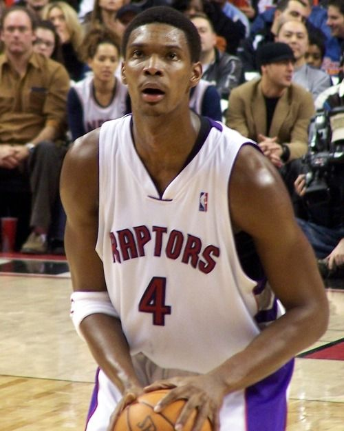 Did you know Chris Bosh played for Toronto Raptor? I know I didn't. I only knew him for the heat, with Wayne Wade and Lebron James.