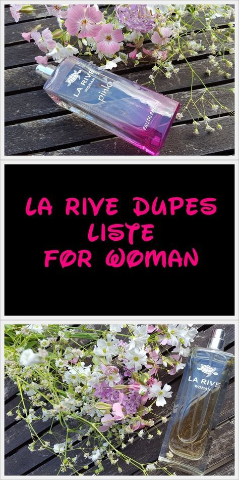 In meiner Dupes Liste findet ihr Duftzwillinge von La Rive für Frauen & Mäner!