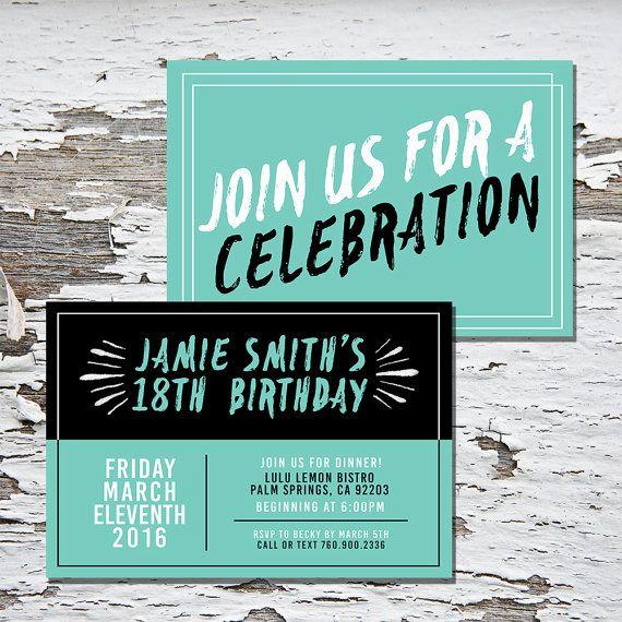 Best 25+ Teen birthday invitations ideas on Pinterest | Birthday ...