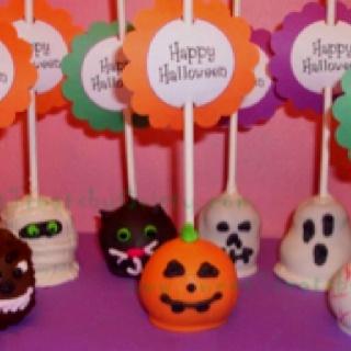 Halloween cake pops: Decorating Ideas, Cake Ideas, Halloween Cake Pops, Halloween Cakes, Cake Pops Cupcakes, Cake Pops, Halloween Ideas, Cake Pops Balls, Dessert