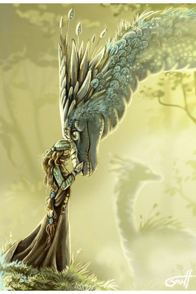 There was a bond between a dragon and its rider, a joining of the hearts and souls and minds for eternity. For a dragon did not choose just any person, but searched in their souls to hear the one whose blood sang the same dragon-song his did. (Beautiful! ***)