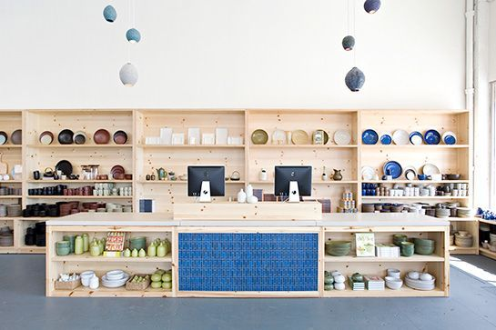 Heath Ceramics Although the shop is known for its flawless ceramic kitchen wares, Heath stocks much more than just the perfect mug. Pillows, clocks, lamps, textiles, and more also boast Heath's signature, stylish touch. Heath Ceramics, 7525 Beverly Boulevard; 323-965-0800.