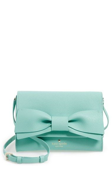 kate spade new york 'clement street - francie' textured leather clutch available at #Nordstrom