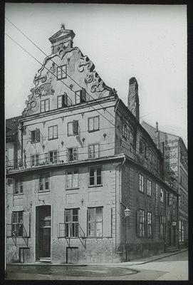 Königsberg, Polnische Str., früher Steinhauptstr. Haus Nr. 29