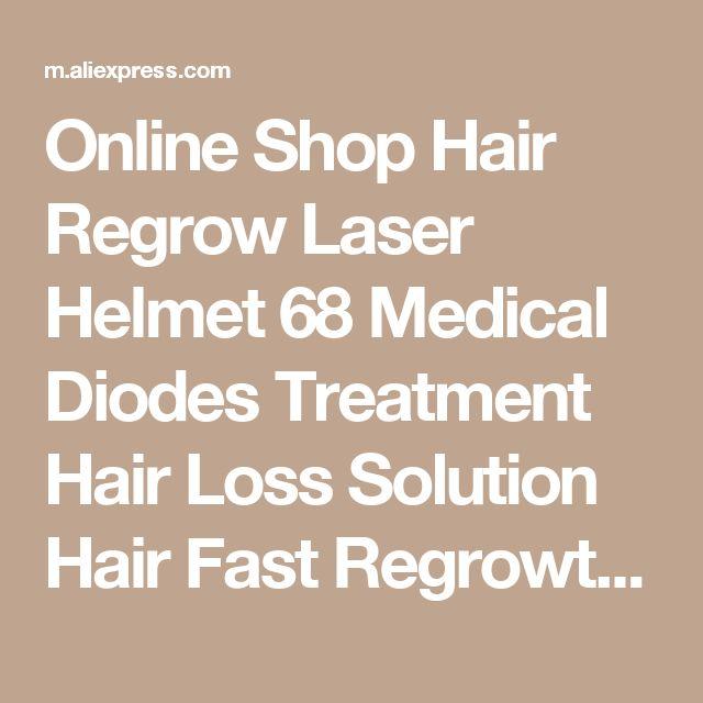 Online Shop Hair Regrow Laser Helmet 68 Medical Diodes Treatment Hair Loss Solution Hair Fast Regrowth LLLT Laser Cap Hair Growth Free glass | Aliexpress Mobile