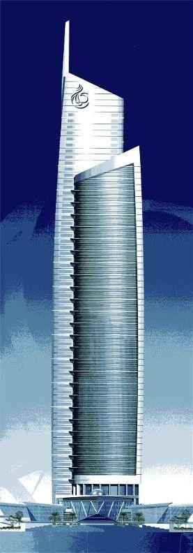 Almas Tower - WS Atkins - Dubai, UAE