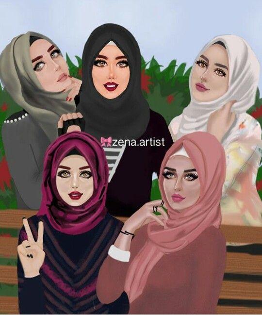 Hijab girls - hijab ladies