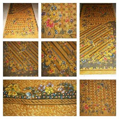 Batik Jawa Baru bisa disebut sebagai evolusi dari Batik Hokokai.