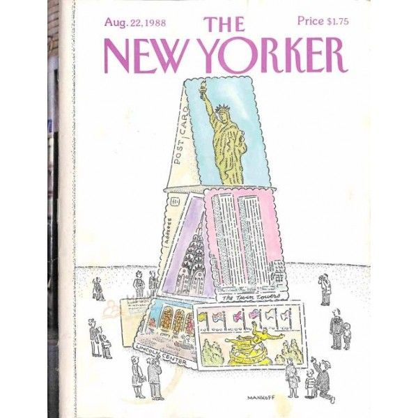 Cover Print of The New Yorker, August 22 1988 | $4.72
