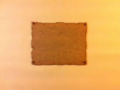 Taş Pano no:1 Dekupaj Panosu 17x13 cm