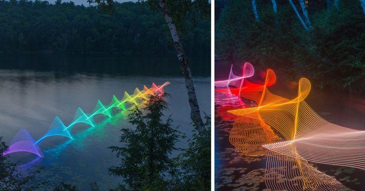 Filets de lumière en canot et en kayak / Géo Plein Air
