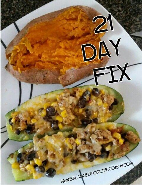 21 Day Fix Dinner #21DayFix