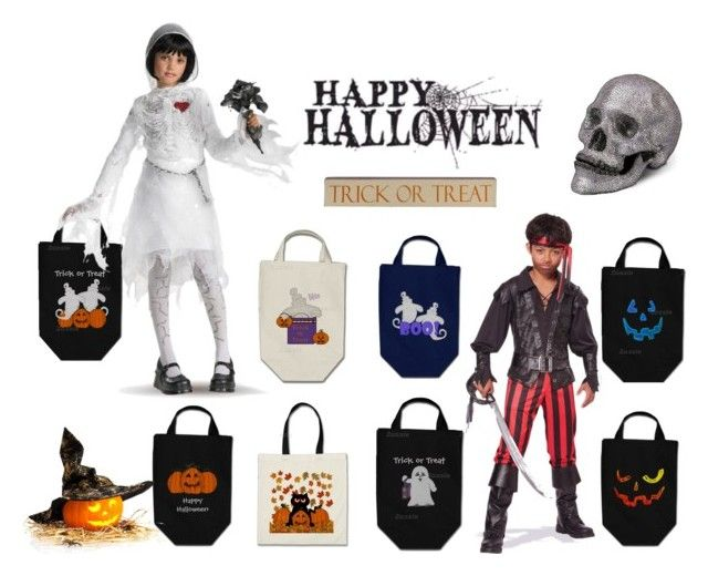Happy Halloween Bags by kelly-cavender on Polyvore featuring L'Objet
