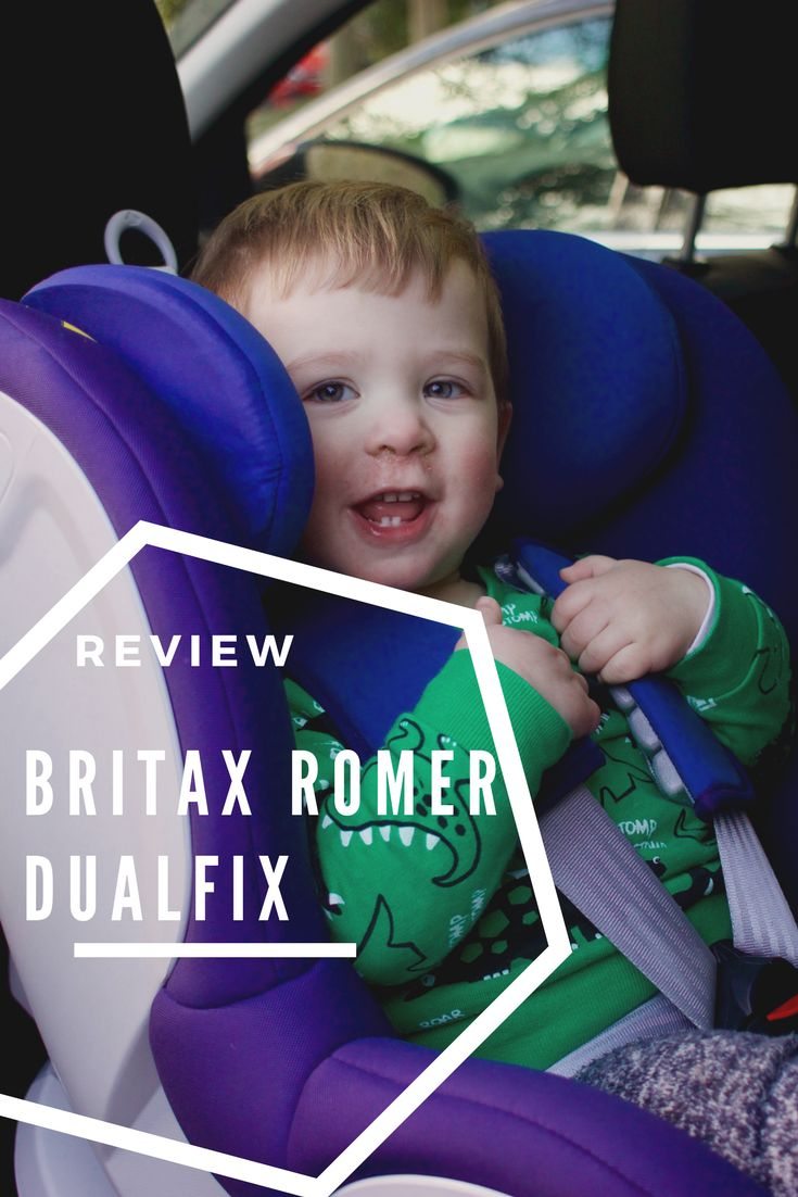 Looking for a car seat for your baby or toddler? We got the Britax Romer DualFix. Check out our review.