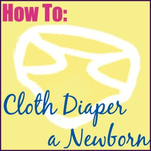 Cloth Diapering a Newborn (load of photos of newborns in various brands of cloth diapers!)